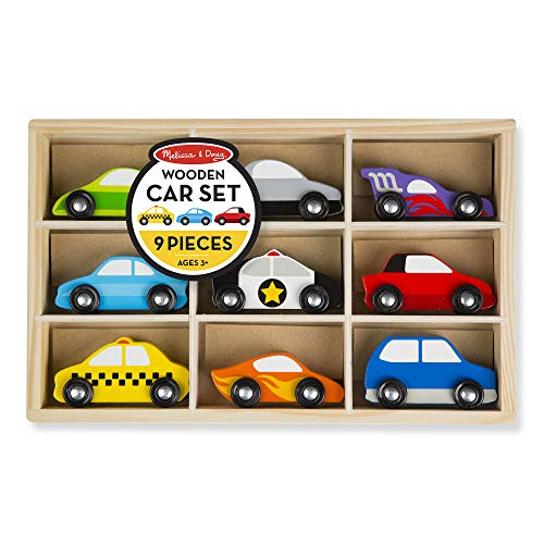 Melissa & Doug Wooden Cars
