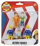 MDstore Fireman Sam Action Figures - 5 Figure Pack