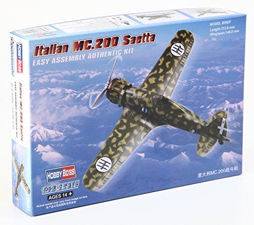 Hobbyboss 1:72 Schaal Italiaans MC.200 Saetta Montagekit