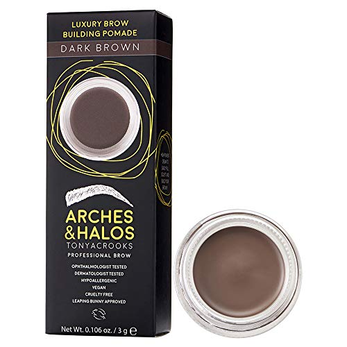 Arches & Halos Luxus Brow Building Pomade in Dunkelbraun, 2,8 g