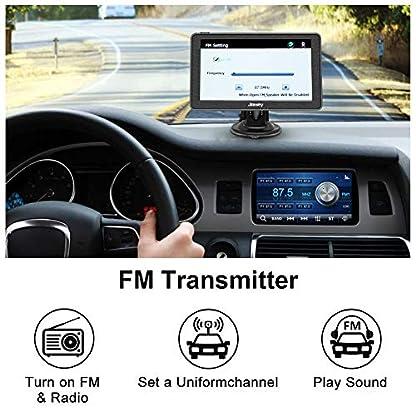 Jimwey-Navigationsgeraet-fuer-Auto-Navigation-LKW-Navi-Navigationssystem-7-Zoll-16GB-Lebenslang-Kostenloses-Kartenupdate-mit-POI-Blitzerwarnung-Sprachfuehrung-Fahrspurassistent-52-Europa-UK-2020-Karte
