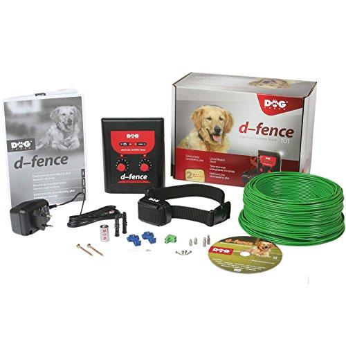 Clôture invisible pour chiens DOGtrace D-Fence 101, pour une surface maximale de 600 m²