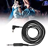 Tattoo Clip Cord, Tattoo Machine CableTattoo Clip Cable,Tattoo Hook Line, Anti-Slip, Portable and Professional Tattoo Tool to Use(02)