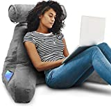 Springcoo Reading Pillow-Shredded Foam Reading Pillow with Detachable Neck Roll Pillow-Great Support...