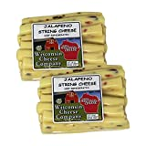 NATIONALLY KNOWN WISCONSIN'S BEST & WISCONSIN CHEESE COMPANY, 100% Wisconsin Cheese! Jalapeno String Cheese (2-12oz Packs) READY TO SERVE – All of our Value Gourmet Cheese and Sausage Selections are ready to serve and this item does require refrigera...