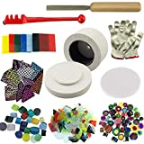 WICAND Kits de horno de microondas para hacer joyas Set (pequeño, 10 unidades)