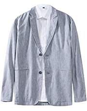 123abcd435ece テーラードジャケット メンズ サマージャケット VICALLED グレー キレイめ ジャケット カジュアル 大きいサイズ 春 夏