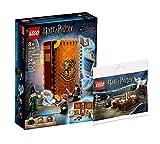 Collectix Lego Set – Harry Potter Hogwarts Momento de transformación 76382 + Harry Potter y Hedwig: Entrega 30420 (bolsa de plástico)