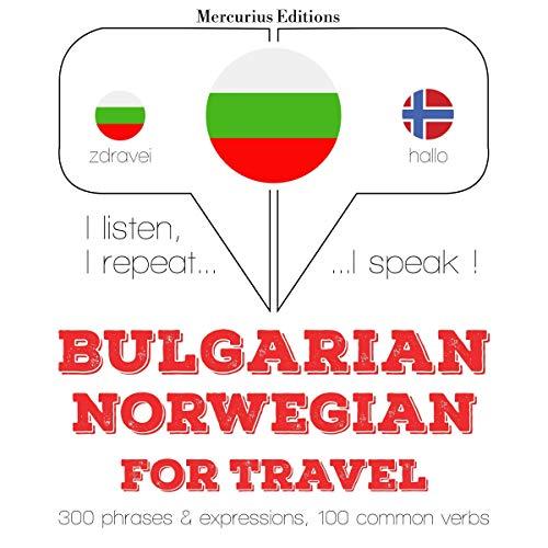 Bulgarian - Norwegian. For travel cover art