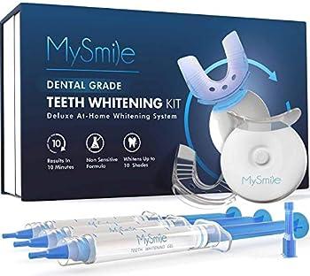MySmile Teeth Whitening Kit with LED Light