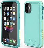 LOVE BEIDI iPhone 11 Waterproof Case 6.1 Screen Protector Underwater Shockproof Full-Body Dustproof Rugged Case for Aplle iPhone 11 (Cyan Green)