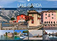 Lake Garda Mediterranean oasis in Northern Italy (Wall Calendar 2022 DIN A3 Landscape): The jewel of Italian lakes with picturesque fishing villages and majestic mountains. (Monthly calendar, 14 pages )