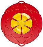 Kochblume Überkochschutz rot mittel - Ø 29,0 cm
