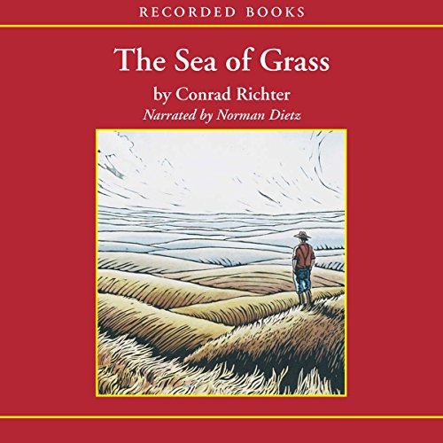 The Sea of Grass audiobook cover art