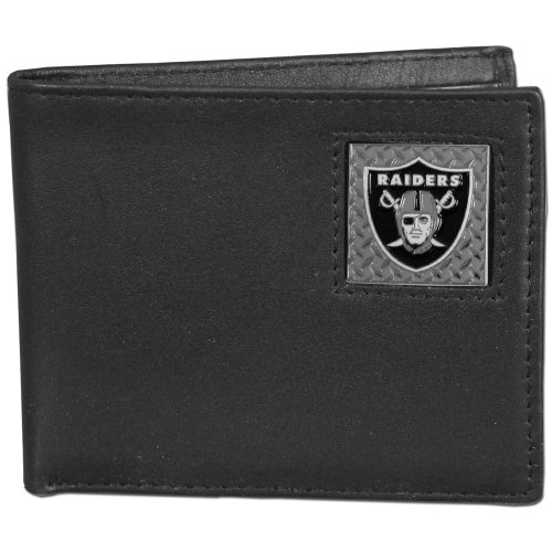 Siskiyou NFL Oakland Raiders Leder American Faltportemonnaie