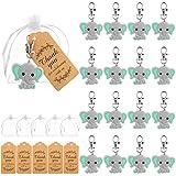 Firtink Set de 30 llaveros para fiesta de nacimiento, bautizo, regalo para boda, bautizo, Navidad, cumpleaños, confirmación, regalo