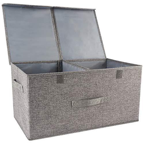 Faltbare Faltbare Aufbewahrungs Box,Deckel, Cube Aufbewahrungskorb Ordnungsystem Sauraum Boxen Körbe Kisten