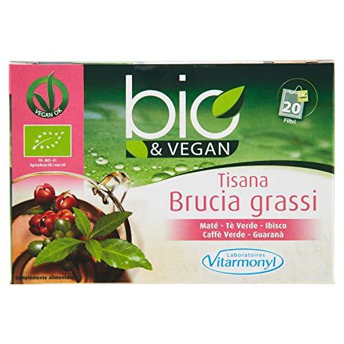 Bio&Vegan Tisana Brucia Grassi - 6 confezioni da 20 bustine
