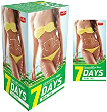 7 Days Skinny Fit detox Tea Bags Weight Loss, Slimming Tea Organic Natural Skinny Herb no Laxative for Loating Belly Fat Everyday and Night - 20 Packs (7 Days Slim Tea)