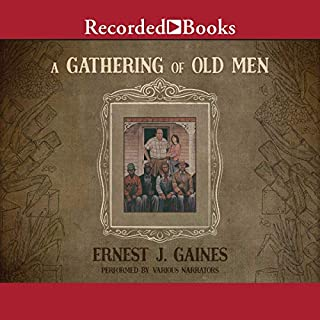 A Gathering of Old Men audiobook cover art