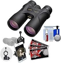 Nikon Prostaff 7S 10x42 ATB Waterproof/Fogproof Binoculars with Case + Smartphone Adapter + Cleaning Kit
