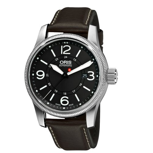 Oris Swiss Hunter Team PS Edition Automatic Grey Dial Stainless Steel Mens Watch 733-7629-4063LS