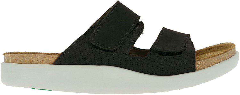 El Naturalista Womens Koi N5090 Flat Sandal