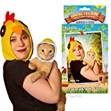 Archie McPhee Loving Friends Kitty Cuddle Costumes, Chicken & Egg