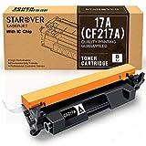STAROVER Cartuccia Toner Compatibile Sostituzione per HP 17A CF217A per HP Laserjet Pro M102w M102a MFP M130nw MFP M130fw MFP M130fn MFP M130a Stampante (1 Nero)