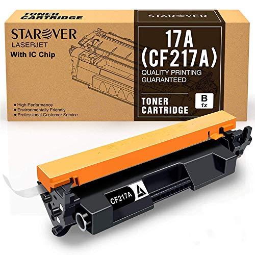 STAROVER Cartucho Tóner Compatible Reemplazo HP 17A