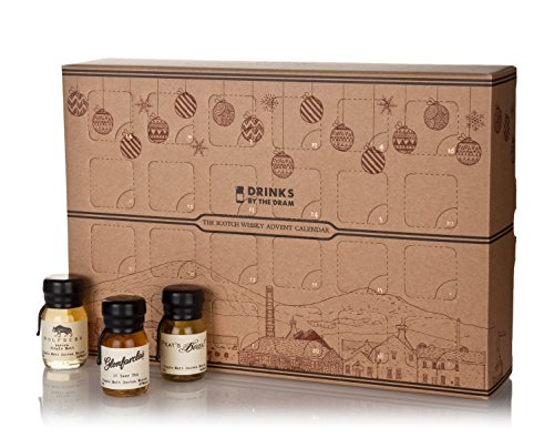 Drinks by the Dram 2017 The Scotch Whisky Advent Calendar, 24 x 3 cl