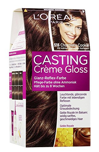 L'Oréal Paris Casting Crème Gloss Glanz-Reflex-Intensivtönung 515 in Chocolate Chip Cookie