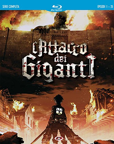 L'Attacco Dei Giganti The Complete Series (Box 4 Br)
