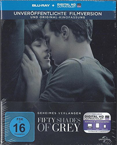 Fifty Shades of Grey - Geheimes Verlangen (Steelbook - Blu-ray) (inkl. Digital HD Ultraviolet) (Limited Edition)