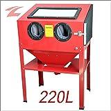 ZNL CPS02 Cabine de sablage 220 l