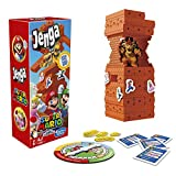 Hasbro Games Jenga: Super Mario Edition Game, Block Stacking Tower Game for Super Mario Fans, Ages 8 and Up