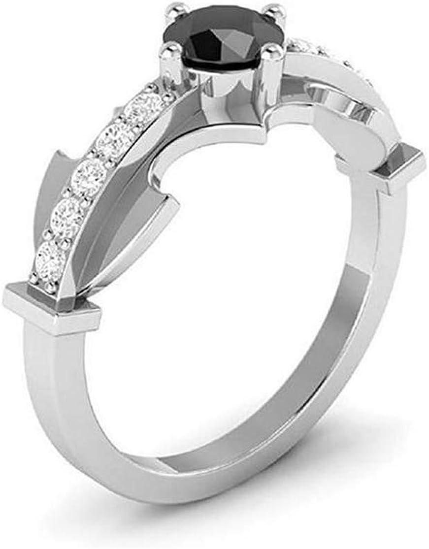 Batman Wedding Ring With Diamond