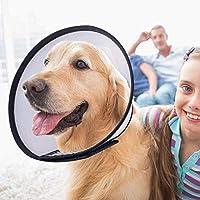 ソフトペット回復襟プラスチック犬猫傷保護ヘッドコーン