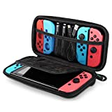UGREEN Carrying Case Compatible for Nintendo Switch Hard Shell Travel Case Protective Cover Bag with 9 Game Cartridges Card Slots for Nintendo Switch Console Pro Controller Accessories