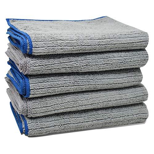 Handdoeken® microvezel reinigingsdoekjes Chemisch Gratis Alle Doeken Auto Polijsten Badkamers Keukens Washanddoeken Grijs 30x40cm