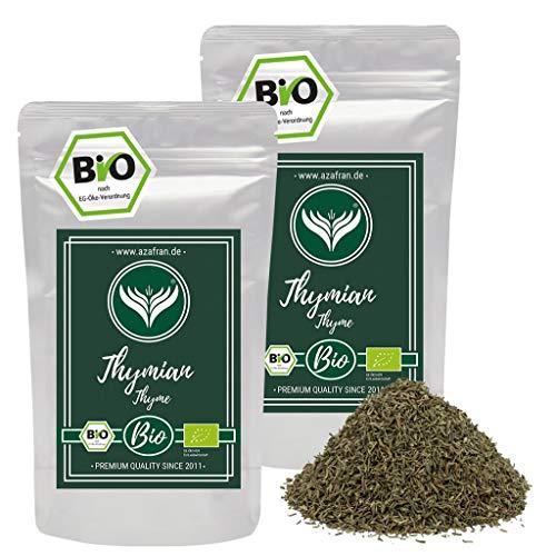 Azafran BIO Thymian getrocknet und gerebelt - Perfekt auch als Thymian Tee 500g