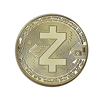 BirchRiver Gold Zcash Coin - Blockchain Cryptocurrency ZED - Commemorative Collector- Zcash