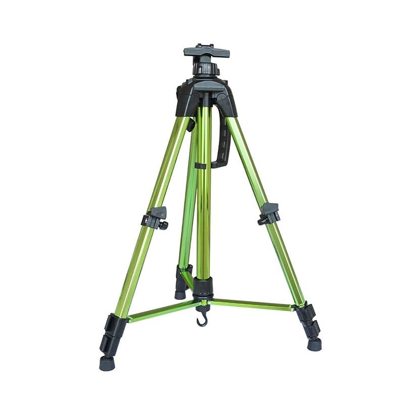 慣性目を覚ますカメWJ イーゼル- イーゼル - 格納式折りたたみイーゼルディスプレイスタンド屋外スケッチ油絵金属アートボードはデスクトップに配置することができます /-/ (Color : Green)