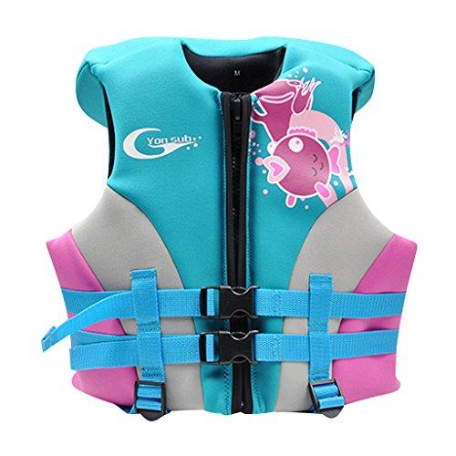 Hony zwemjack voor jongens meisjes - kleine kinderen badmode zwemtraining kinderen babe trainer vest opblaasbaar jack zwemmen leren unisex groen