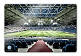 Schalke 04 Wall-Art - Glasbild Arena Tribüne mit