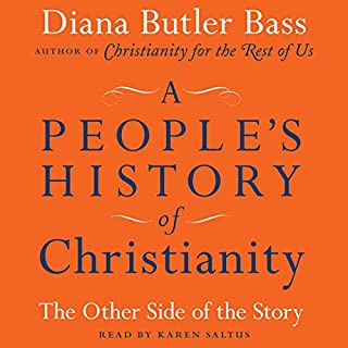 A People's History of Christianity audiobook cover art
