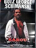 Schimanski - Zabou - Götz George - Filmposter A1 84x60cm