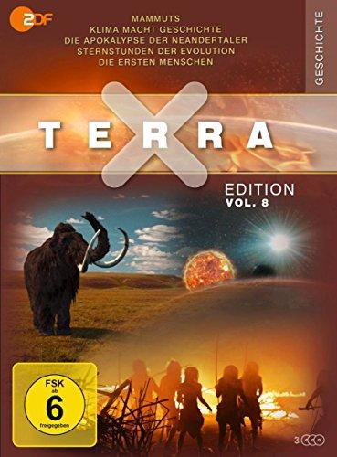 Terra X - Edition Vol. 8: Die ersten Menschen / Mammuts - Stars der Eiszeit / Apokalypse der Neandertaler ... (3 DVDs)