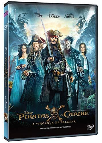 Piratas Do Caribe: A Vingança De Salazar [DVD]