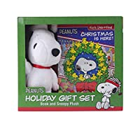 Peanuts: Christmas Is Here! Holiday Gift Set: Book and Snoopy Plush (Look and Find)